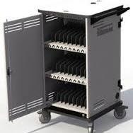 Chromebook Charging Solution Cart Reached